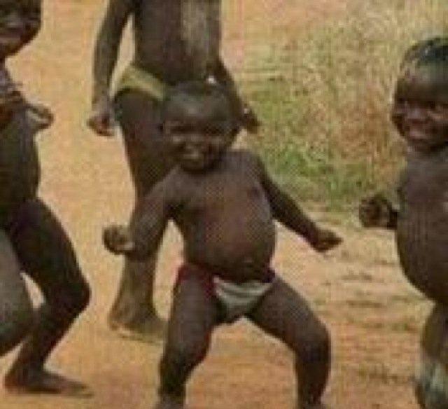 Third World Success Kid Dancing Black Kid