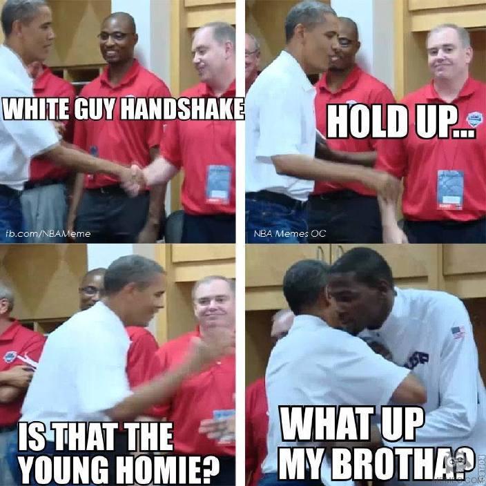 Funny Memes Vines : Obama handshake memes