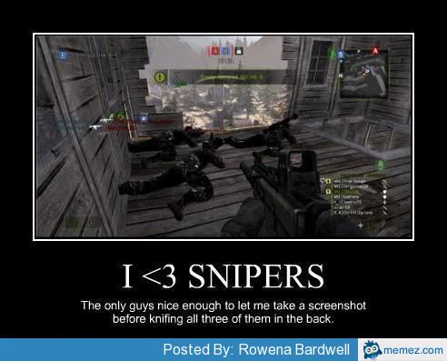 call of duty snipers memes
