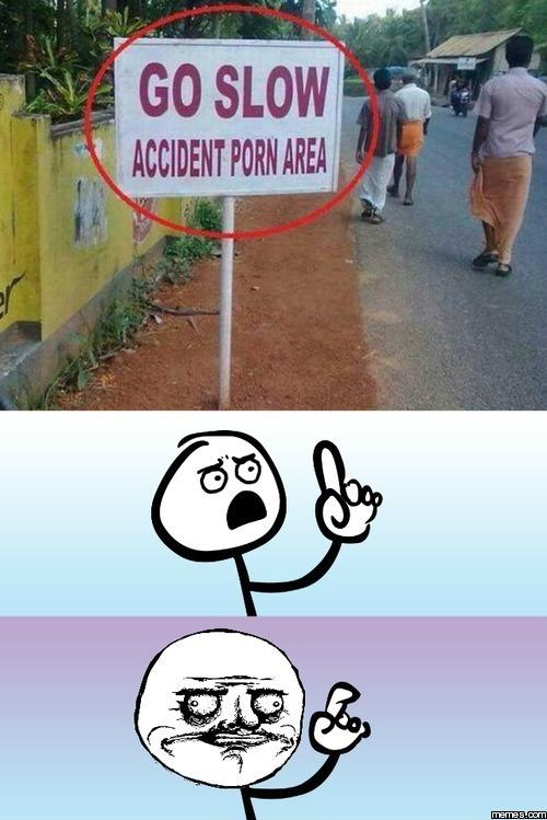 porn accident