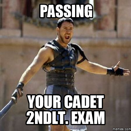 Pass Exam Passing Your Cadet 2ndlt Exam
