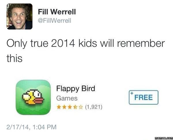 Only true 2014 kids