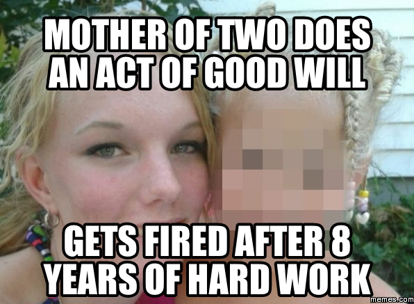 179291 mcdonalds employee fired for buying firefighters meals goodwill