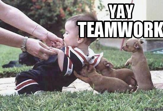 Funny Meme Yay : Yay teamwork