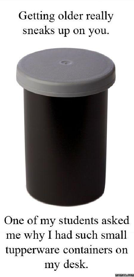 Mini Tupperware Containers