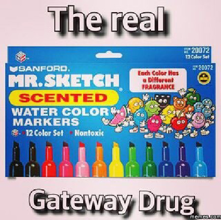 The real gateway drug