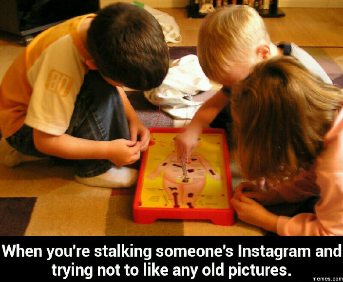 When Are You Stalking Someone When You're Stalking Someone's