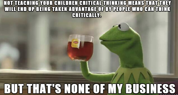 critical thinking teaching