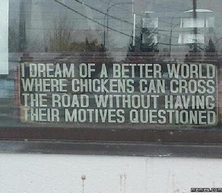 I dream of a better world