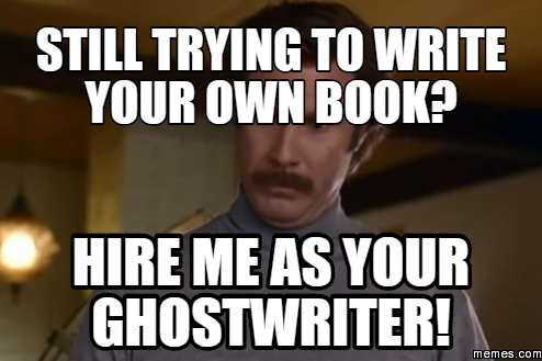 Ghostwriter to write a book report for me