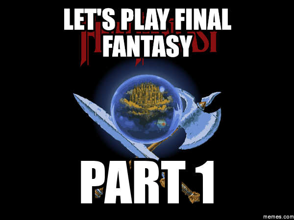 play final fantasy 1