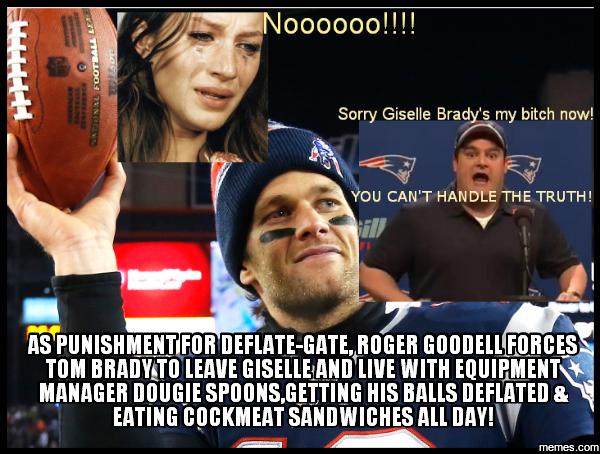 Deflate Gate Tom Brady Memes Quotes