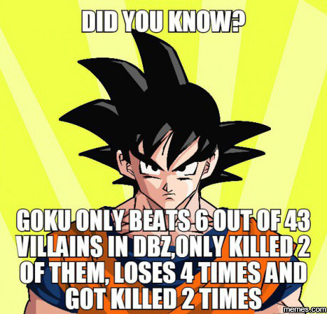 Did you know? DBZ fact