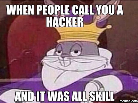 When people call you a hacker