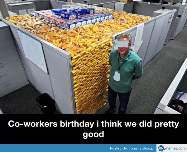 Funny Meme For Coworkers : Birthday memes