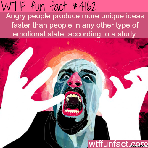 Angry people fact