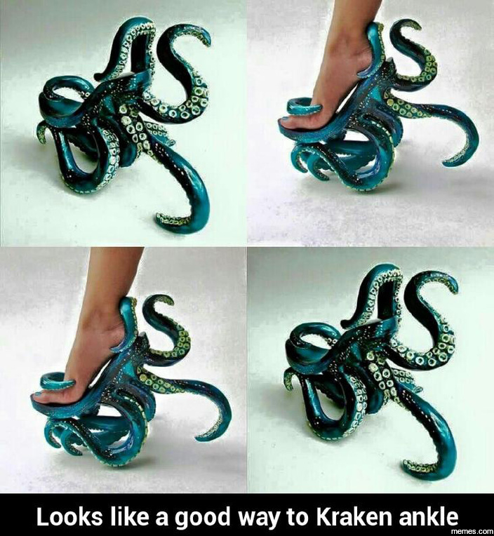 Looks like a good way to Kraken ankle