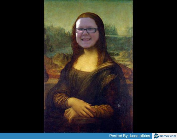 Kubajacked Mona Lisa