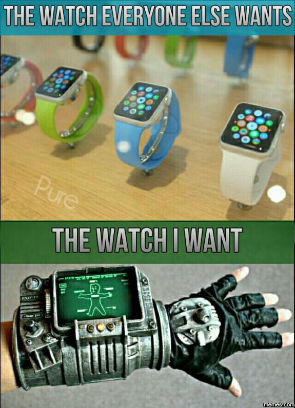 The watch I want