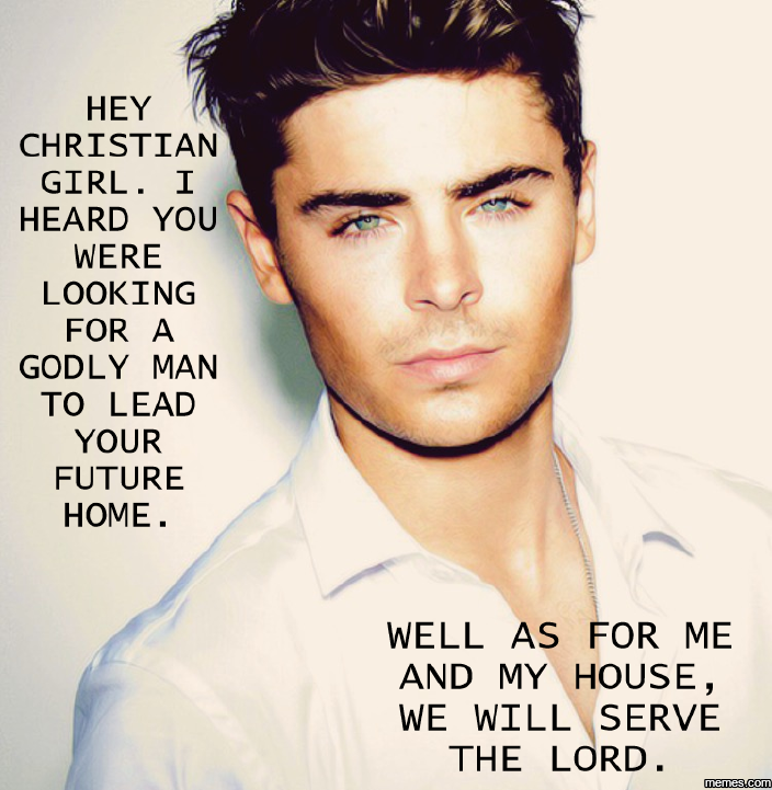 Hey christian girl i heard you were looking for a godly for Christian hey