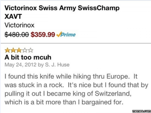 Swiss Army Knife Review