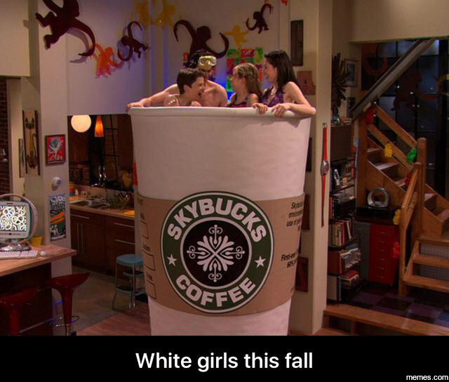 White girls this fall