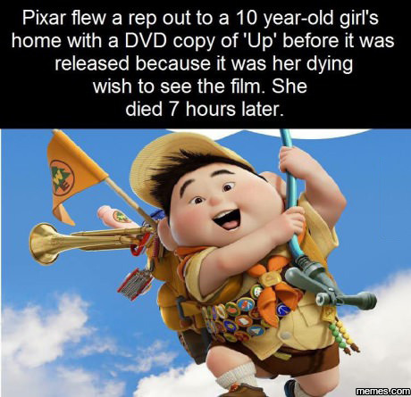 Love it when Film companies do such selfless acts