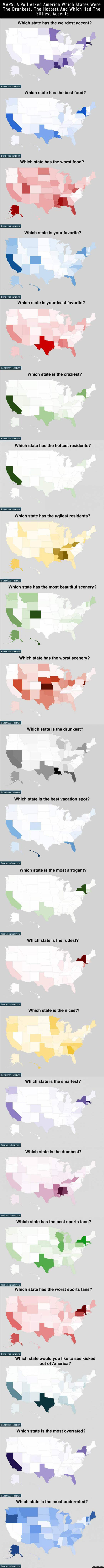 How Americans Feel About Every State