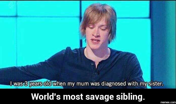Savage sibling