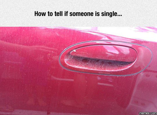 how to tell if someone is single