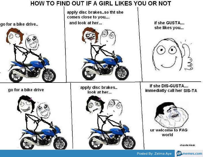 how to find if a girl likes you