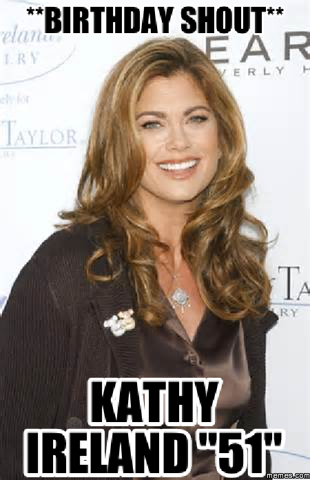 birthday shout   kathy...