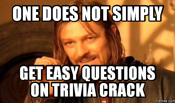 Question Trivia Night Meme – Billy Knight