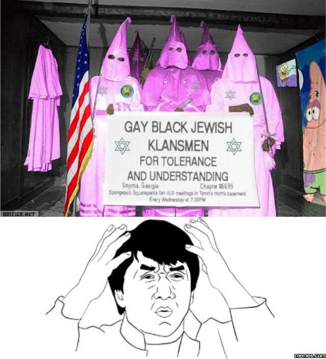 Gay Black Jewish Klansmen 51