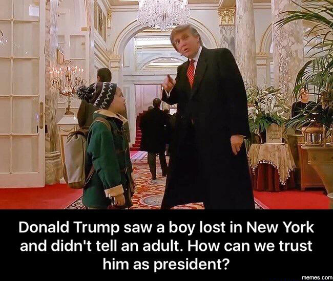 Yearly Reminder that Donald Trump was in Home Alone 2 AND ...