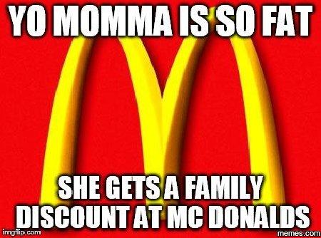 Your Mammas So Fat 101